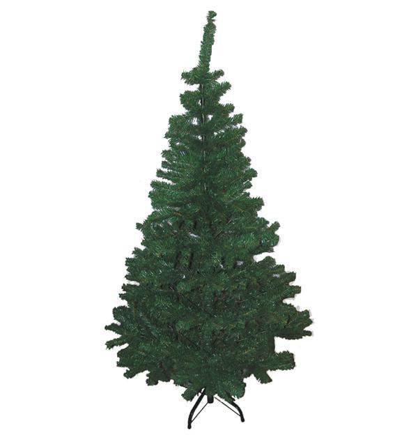 Χριστουγεννιάτικο δέντρο πράσινο 150 εκ μεταλλικά πόδια