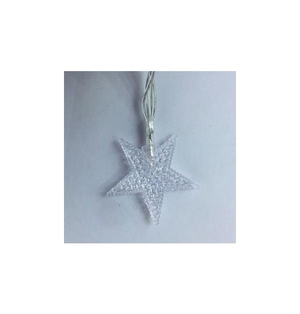 20 Πολύχρωμα λαμπάκια αστεράκια