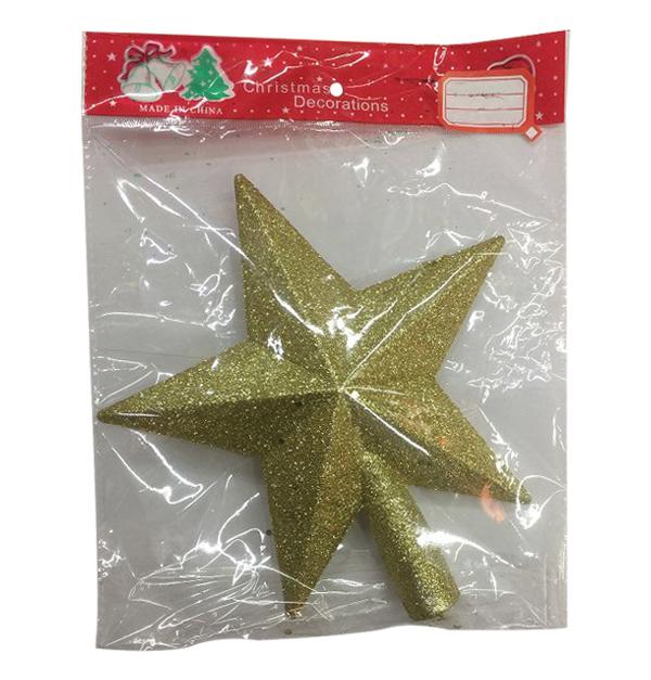 Χριστουγεννιάτικo αστέρι για κορυφή δέντρου