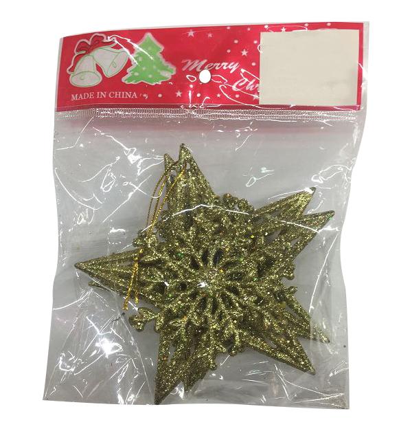 Σετ 2 Χριστουγεννιάτικα κρεμαστά αστέρια