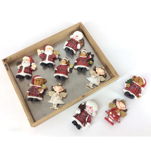 Χριστουγεννιάτικα μαγνητάκια 7 εκ.