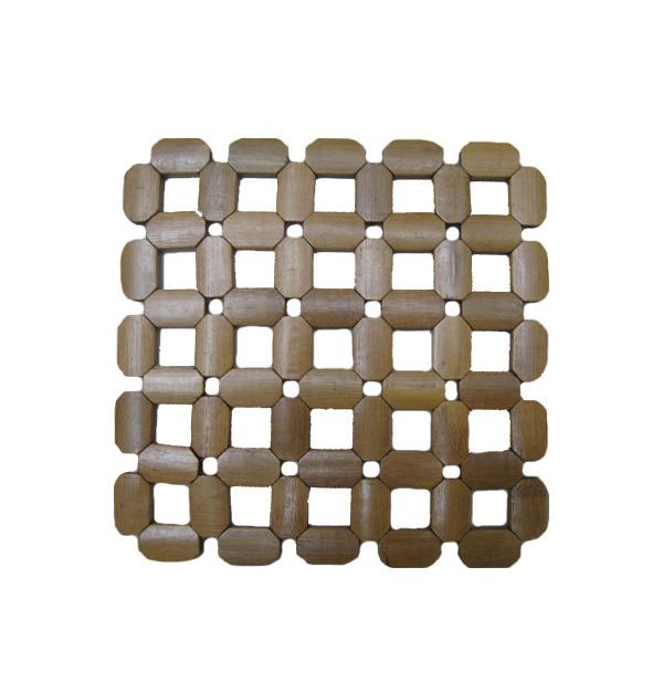 Σουπλά κατσαρόλα μπαμπού τετράγωνο 17,5 εκ.