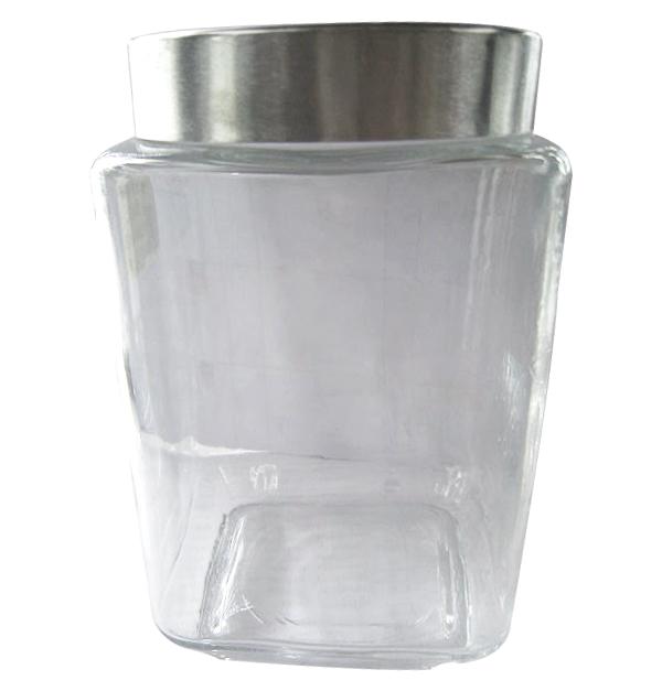 Γυάλινο βάζο 2100ml με πώμα