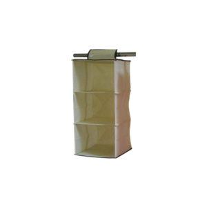 Κρεμαστή θήκη ντουλάπας με 3 ράφια [00402067]