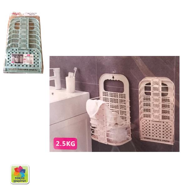 Κρεμαστή ραφιέρα μπάνιου πλαστική