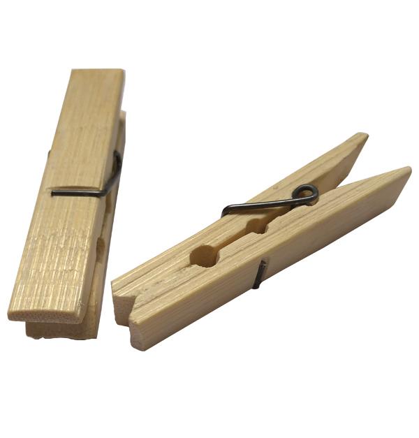 Σετ 20 ξύλινα μανταλάκια 6cm