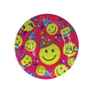 Σετ 10 στρογγυλά χάρτινα πιάτα πάρτυ Φ18,5cm [00405137]