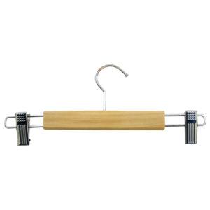 Ξύλινη κρεμάστρα παντελονιού και φούστας από ξύλο σημύδας [00501012]