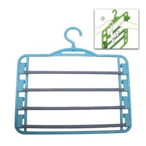 Πλαστική κρεμάστρα για 5 παντελόνια [00501019]