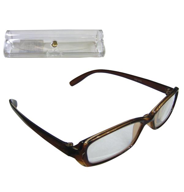 Γυαλιά πρεσβυωπίας με διάφανη θήκη - Νο 1.00