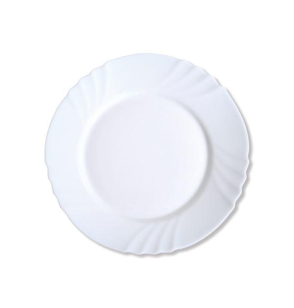 Στρογγυλό πιάτο φαγητού οπαλίνα 26 cm [00204001]