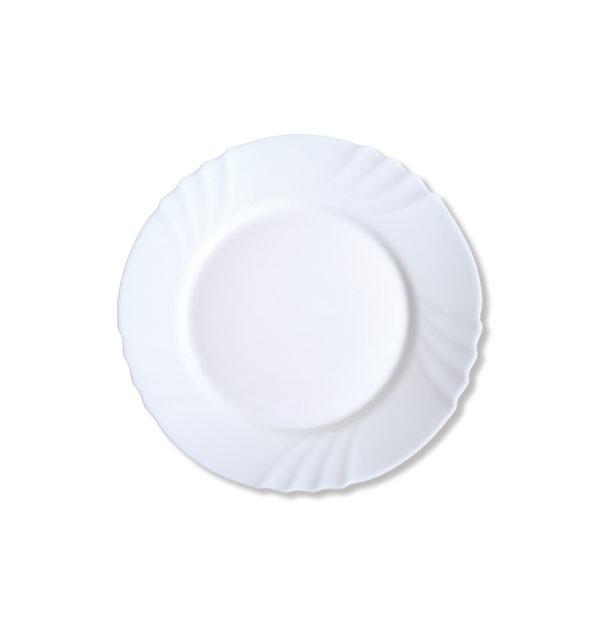 Στρογγυλό πιάτο φαγητού οπαλίνα 23 cm [00204002]