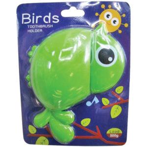 Αναρτώμενη παιδική θήκη για οδοντόβουρτσες σε σχήμα πουλιού [00402502]