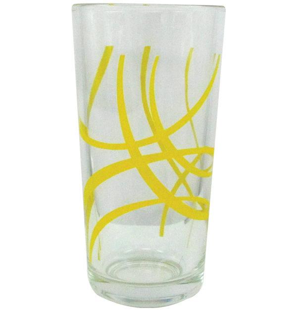 Σετ 6 ποτήρια νερού 25,5cl - Yellow Arcs
