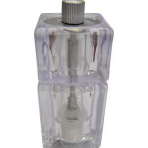 Πλαστικός διάφανος πιπερόμυλος 12,5cm [00101457]