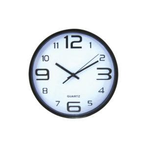 Στρογγυλό ρολόι τοίχοι 30cm [10302094]