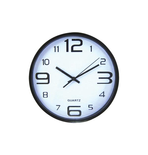 Στρογγυλό ρολόι τοίχοι 30cm