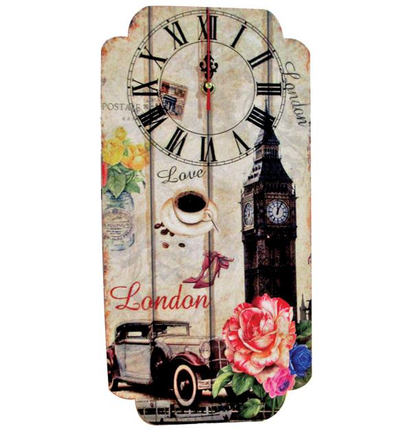 Ρολόι τοίχου μακρόστενο