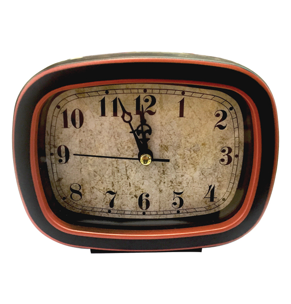Παραλληλόγραμμο ξυπνητήρι 13cm