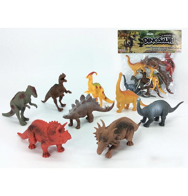 Σετ 8 δεινόσαυροι
