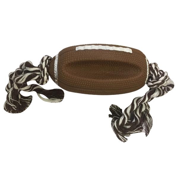 Παιχνίδι σκύλου μπάλα με σχοινί 13cm