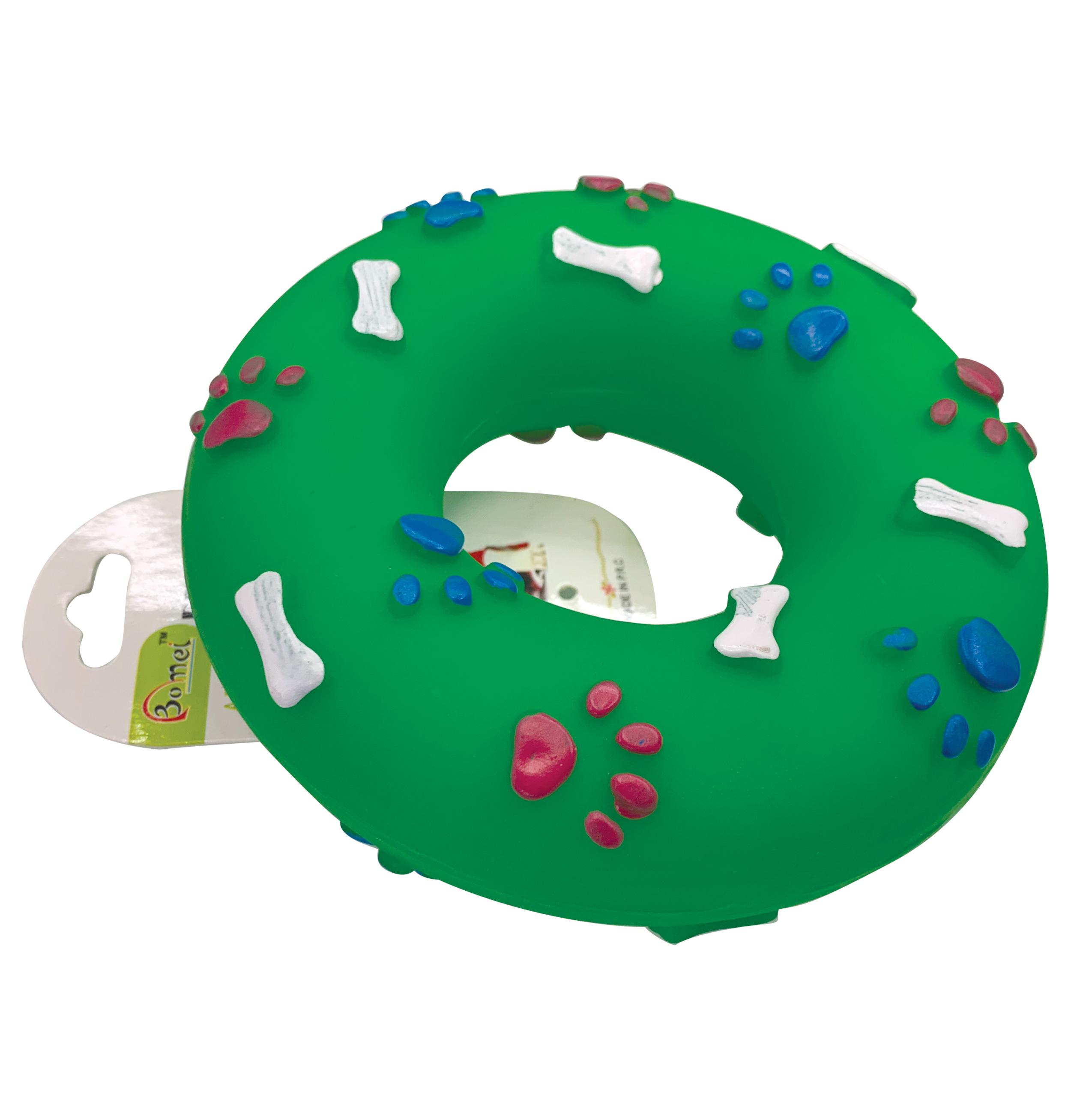 Πλαστικό παιχνίδι σκύλου donut