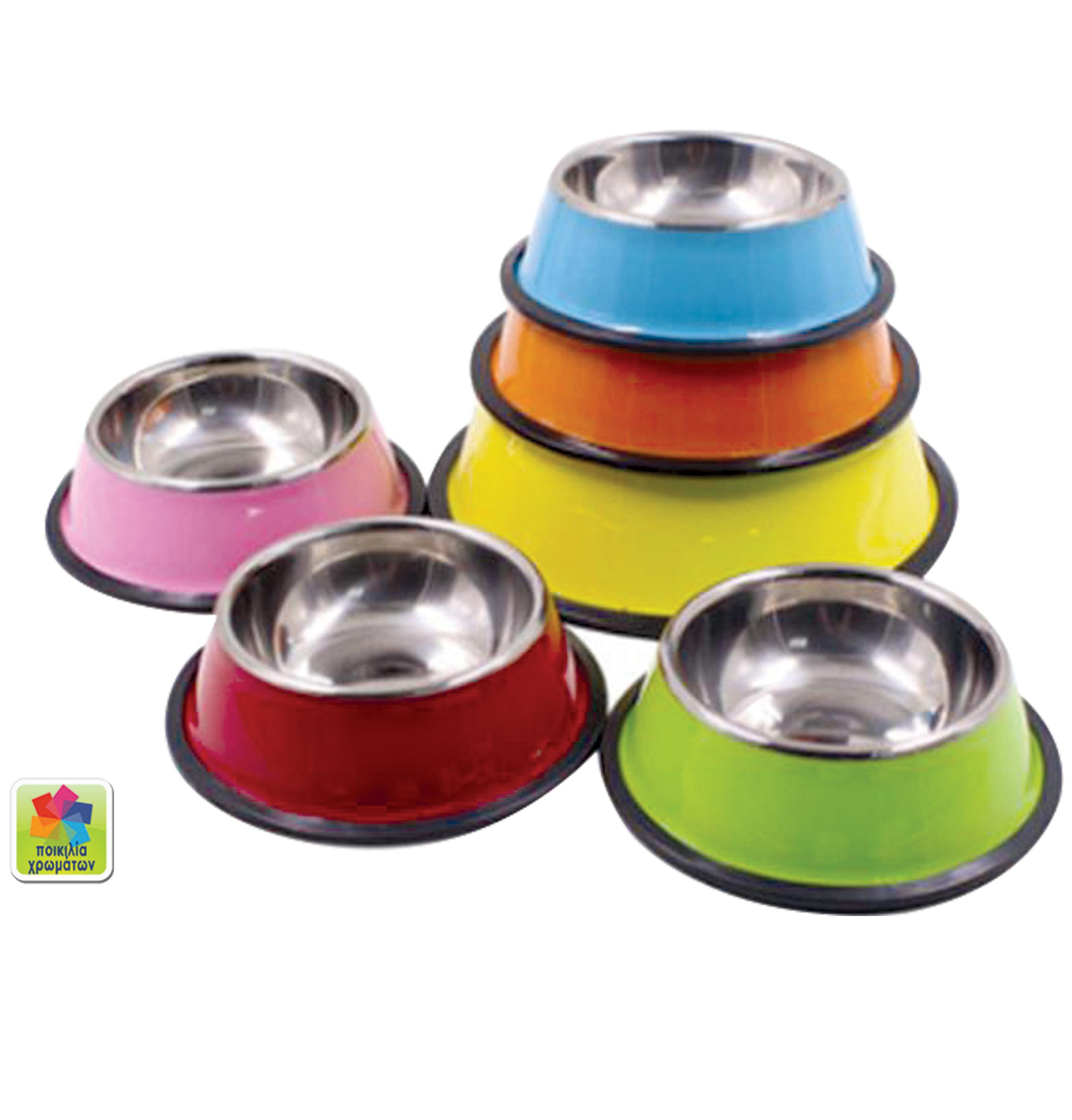 Mπόλ φαγητού σκύλου μεταλλικό