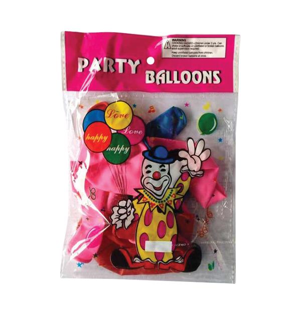 Σετ 10 μπαλόνια Νο.8