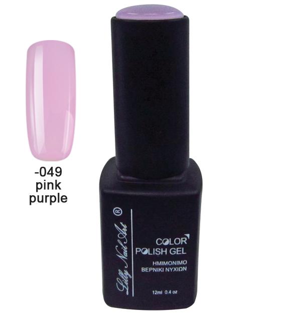 Ημιμόνιμο τριφασικό μανό 12ml - Pink purple