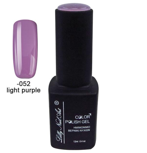 Ημιμόνιμο τριφασικό μανό 12ml - Light purple