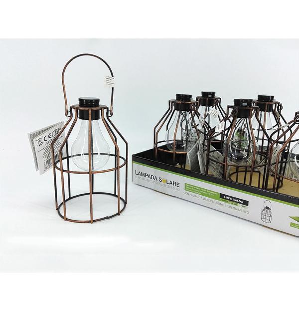 Μεταλλικό κρεμαστό ηλιακό φωτιστικό led