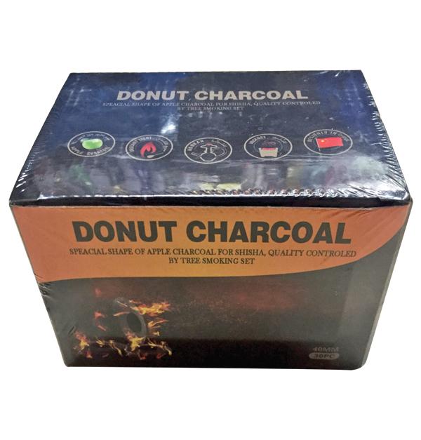 Σετ 30 καρβουνάκια για θυμιατό σε σχήμα donut