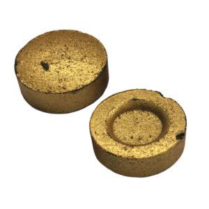 Σετ 80 χρυσά καρβουνάκια για θυμιατό [10601089ΚΑΡ]