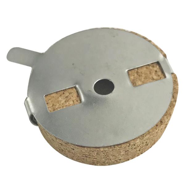 Στρογγυλή καντηλήθρα φελλός Φ3cm