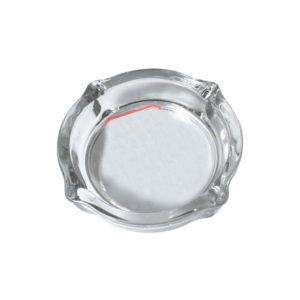 Στρογγυλό γυάλινο τασάκι [10704086]