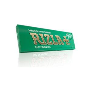 Χαρτάκια στριφτών τσιγάρων Rizla πράσινο