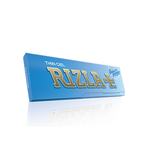 Rizla cigarette rolling papers 50 pieces light blue