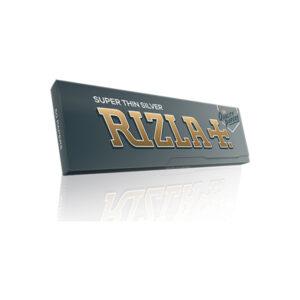 Χαρτάκια στριφτών τσιγάρων Rizla ασημί 50 τεμαχίων