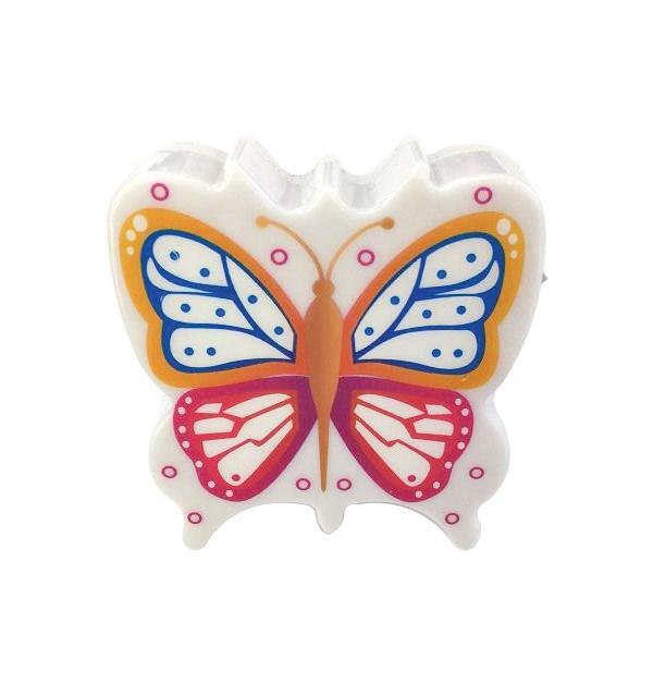 Φωτάκι νυκτός πεταλούδα με διακόπτη