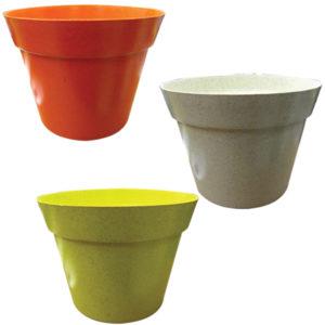 Πλαστικό χρωματιστό κασπό 14,5cm [10804014]