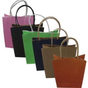 Χάρτινη τσάντα-σακούλα δώρου 21x15cm [11401208]