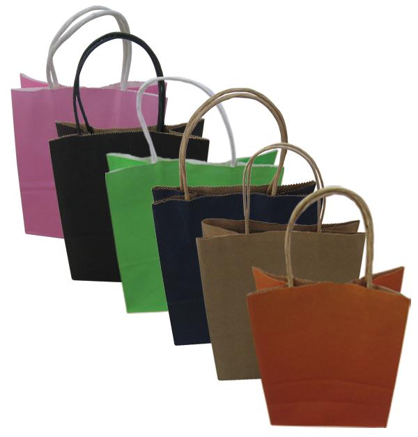 Χάρτινη τσάντα-σακούλα δώρου 21x15cm