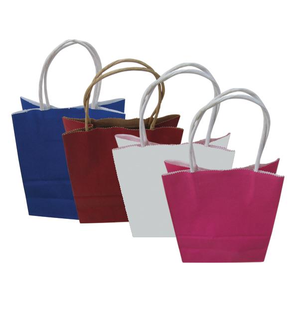 Χάρτινη τσάντα-σακούλα δώρου 33x25cm