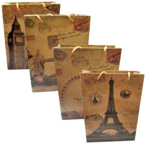 Χάρτινη τσάντα-σακούλα δώρου 14x11,5cm [11401230]