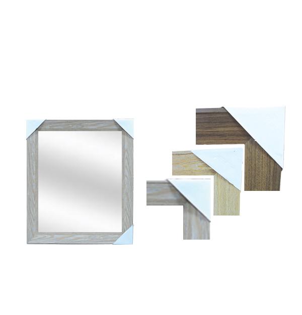 Καθρέφτης επιτοίχιος ξύλινο κάδρο 45 x 55 εκ.