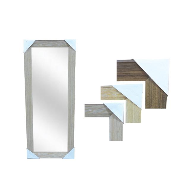 Καθρέφτης επιτοίχιος ξύλινο κάδρο 30 x 90 εκ.