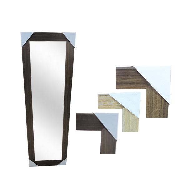 Καθρέφτης επιτοίχιος ξύλινο κάδρο 30 x 120 εκ.
