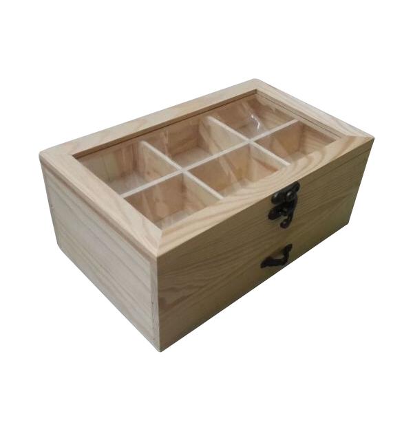 d4a1b06f8dea Ξύλινο αλουστράριστο κουτί για 1 φιάλη κρασί  20601235  20601235 102  Hobby Υλικά ...