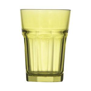 Γυάλινο λαχανί ποτήρι νερού