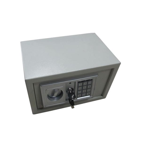 Μικρό χρηματοκιβώτιο με συνδυασμό και κλειδί